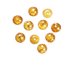 Sunshine Faceted Round 8mm