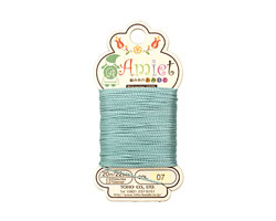 Teal Amiet Thread 22 yards