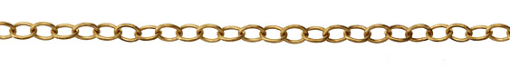 Vintaj Vogue Rounded Oval Chain