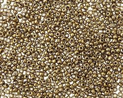 Metallic Antique Gold Round 11/0 Seed Bead
