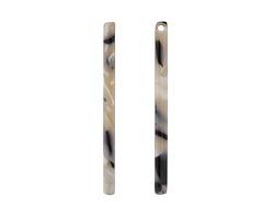 Zola Elements Black Pearl Acetate Stick Drop 3x39mm