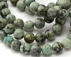 African Turquoise Round 10mm