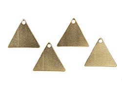 Vintaj Vogue Triangle Blank 16x14mm
