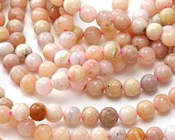 Pink Opal Round 6mm