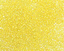 TOHO Lemon (with Silver Lining) Round 15/0 Seed Bead