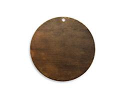 Vintaj Natural Brass Circle Altered Blank 34mm