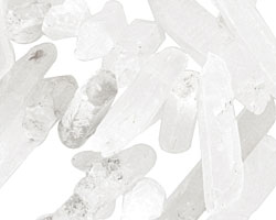 Rock Crystal Stick Graduated 4-7x12-56mm