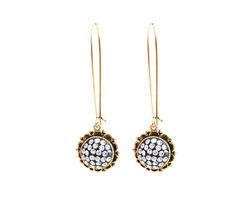 Nunn Design Antique Gold (plated) Ornate Earrings Kit