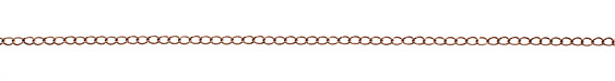 Antique Copper (plated) Curb Chain