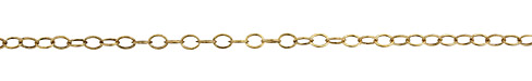 Antique Gold (plated) Oval Cable Chain