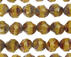 Czech Glass Sunday Breakfast Chandelier Cut 8mm