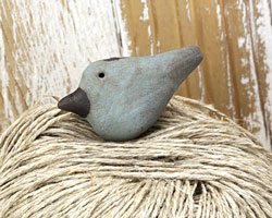 MAKUstudio Raku Patina Bird Focal Bead (piece #8) 36x19mm
