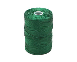 C-Lon Green Fine Weight (.4mm) Bead Cord