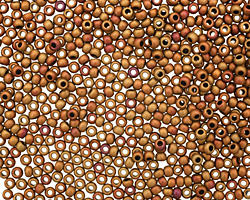 TOHO Opaque Pastel Frosted Mudbrick Round 11/0 Seed Bead