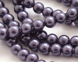 Twilight Shell Pearl Round 4mm