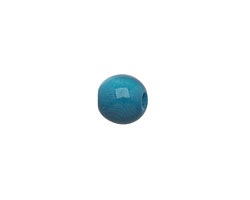 Tagua Nut Turquoise Round 9mm