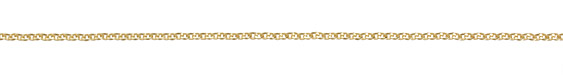 Satin Hamilton Gold (plated) Beveled Cable Chain