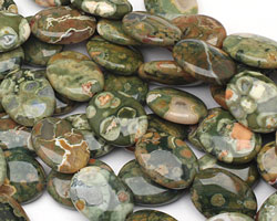 Rhyolite Flat Oval 20x15mm