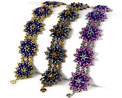 Thistle Flower Bracelet Pattern