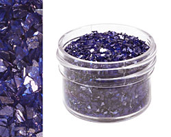 Lapis Vintage Glass Glitter (Shards) 1 oz.