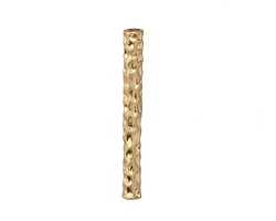 Zola Elements Matte Gold (plated) Pebbled 2-3mm Cord Tip 4x35mm