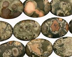 Rhyolite Flat Oval 18x13mm