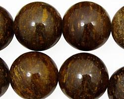 Bronzite Round 18mm