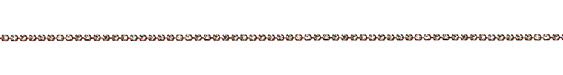 Antique Copper (plated) Rhinestone Chain 2mm