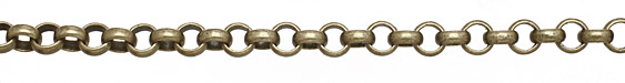 Antique Brass (plated) Rollo Chain