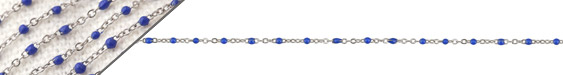 Stainless Steel Cobalt Tiny Cable Chain
