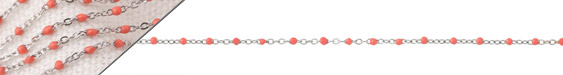 Stainless Steel Coral Tiny Cable Chain