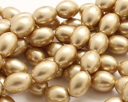 Hamilton Gold Shell Pearl Rice 11x8mm