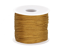 Honey Chinese Knotting Cord 0.8mm, 120 yard spool