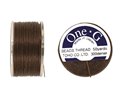 TOHO One-G Brown Thread