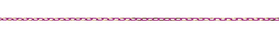 Neo Pink Oval Cut Cable Chain 5x3mm