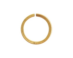 Nunn Design Antique Gold (plated) Square Wire Circle Jump Ring 12mm