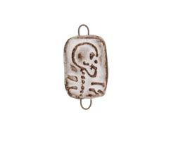 Gaea Ceramic Skeleton Link 27x15-16mm