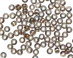 TOHO Rainbow Black Diamond (with Gold Lining) Round 6/0 Seed Bead