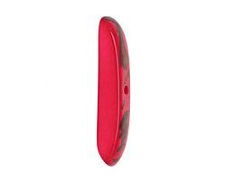 Tagua Nut Hot Pink Splinter (center-drilled) 7-8x28-35mm