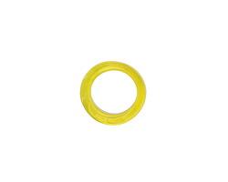 African Recycled Glass Sunshine Dogun Mini Ring 10-14mm