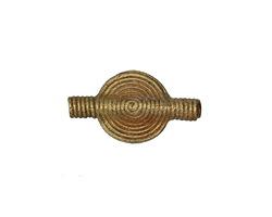 African Brass Disc 24x13mm