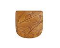 Golden Picture Jasper Banner Pendant (large hole) 30x30mm