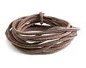 Dark Brown Vintage Leather Cord 2mm