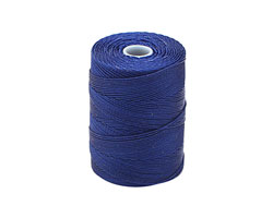 C-Lon Capri Blue Fine Weight (.4mm) Bead Cord