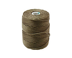 C-Lon Olive Tex 400 (1mm) Bead Cord