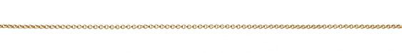 Satin Hamilton Gold (plated) Tiny Rollo Chain