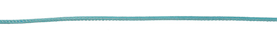Turquoise Stitched Suede Round Leather Cord 2.5mm