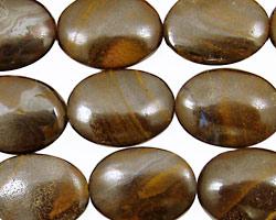 Boulder Opal Flat Oval 18x13mm