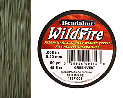"WildFire Green .008"" Thread"