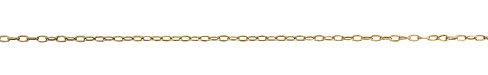 Antique Gold (plated) Drawn Cable Chain